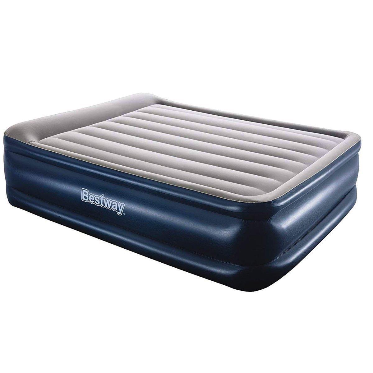 Двухспальная надувная кровать со встроенным электронасосом Bestway 67614, (размер 152*203*56 см)