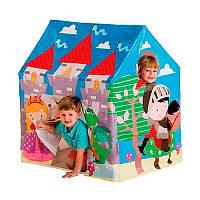 Барвиста, вінілова, ігровий намет-будиночок Intex 45642 Середньовічної замок, розмір 95х75х107 см