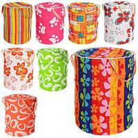Самораскрывающаяся кошик з цупкої тканини для зберігання дитячих іграшок M 1302 (8 дизайнів)