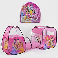 """Намет з тунелем для дітей """"Принцеси Діснея"""" 8015 P, розмір 270*92*92 см"""