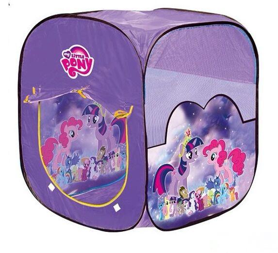 Игровая детская палатка My little pony 8008 PN 92х72х72 см