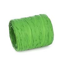 Рафия искусственная Зеленая 10 м