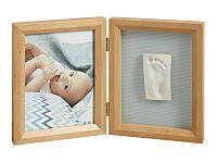 Baby art Двойная рамочка Print Frame natural