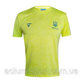 Футболка игровая Victory Titar желтая с симовликой