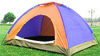 Палатка туристическая 2.0 х 1.5 х 1.4 метра, 3 местная