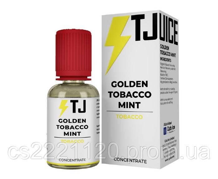 T-juice Golden Tobacco Mint концентрат 30мл.