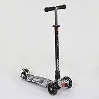 Самокат трехколесный для детей от 3 лет Best Scooter Maxi А 25465 /779-1320 со светящимися колесами, фото 1