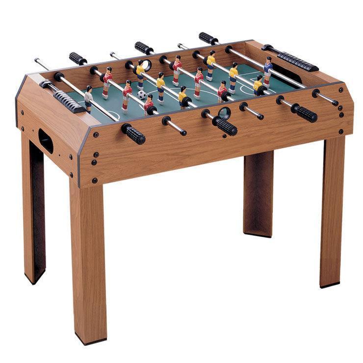 Дитяча настільна гра Bambi 2031 футбол на штангах з дерев'яним столом на ніжках