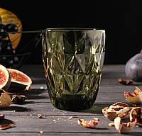 Набір склянок «Круїз», 240 мл, колір зелений 6 шт.