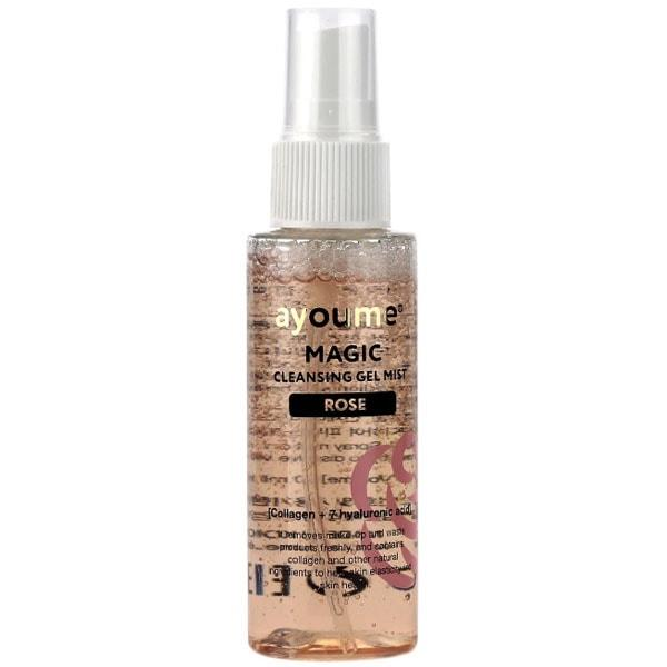 Гель-мист для очищения лица с розой AYOUME MAGIC CLEANSING GEL MIST ROSE - 50 мл