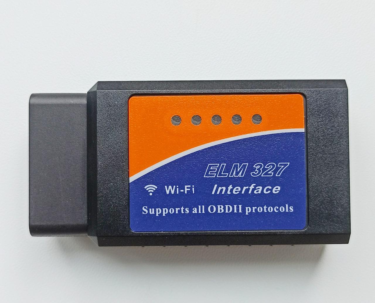 Сканер для діагностики авто ELM327 OBD2 Wi-Fi v1.5 для Android/IOS чіп PIC18F25K80