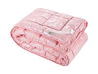 Одеяло DOTINEM ROSALIE искусственный лебяжий пух 145х210 см розовое (211076-3), фото 1