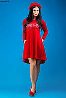 Платье ассиметричное со стразами № 279 н.м.