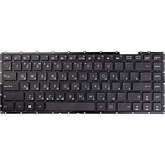 Клавіатура для ноутбука ASUS X453, X451, чорний