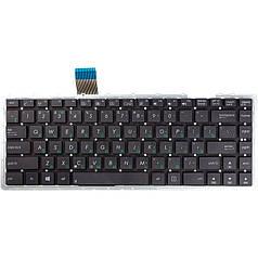 Клавіатура для ноутбука ASUS X450J, A450CC, чорний
