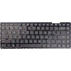 Клавіатура для ноутбука ASUS X401, X401E, чорний