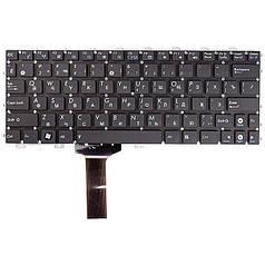 Клавіатура для ноутбука ASUS Eee PC 1011CX, 1015BX, чорний