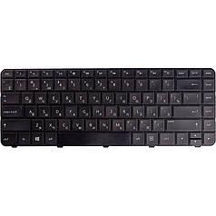 Клавиатура для ноутбука HP Pavilion G4 черный, черный фрейм