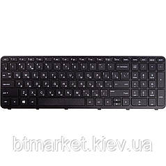 Клавиатура для ноутбука HP 350 G1, 355 G2 черный, черный фрейм