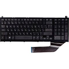 Клавиатура для ноутбука HP ProBook 4720s черный, черный фрейм