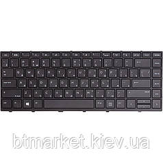 Клавиатура для ноутбука HP Probook 430 G5, 440 G5 черный, черный фрейм