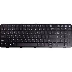 Клавиатура для ноутбука HP Probook 450, 450 G1, 455 черный, черный фрейм