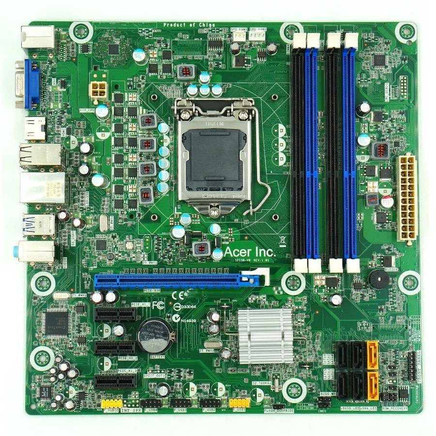 НАДІЙНА Мат ПЛАТА s1155 ACER M3970 ( IPISB-VR ) на DDR3 /USB3.0 +РОЗУМІЄ Core - i7,i5,i3 3го Покоління 1155