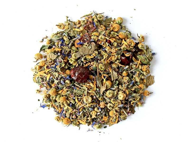 Чай Teahouse (Тиахаус) Горные травы 250 г (Tea Teahouse Mountain herbs 250 g)
