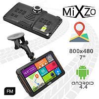 ЛУЧШИЙ! GPS навигатор MiXzo MX760M DVR 1/16GB AV/FM/BT/Wi-Fi