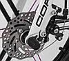 """Дитячий велосипед CORSO LT-18"""" магнієва рама і диски, ручне дискове гальмо, доп. колеса, дзвіночок, фото 4"""