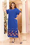 Легкое женское летнее платье большого размера 48 - 50 , 52 - 54, фото 7
