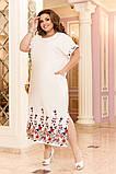Легкое женское летнее платье большого размера 48 - 50 , 52 - 54, фото 4