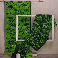 Рушник махровий ТМ Речицький текстиль, Діно 50х90 см