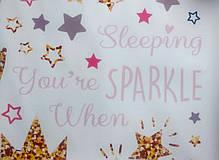 """Виниловые наклейки на стену, шкаф в детскую """"девочка-принцесса на луне со звездами"""" 56см*58см (лист 35*60см), фото 2"""