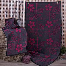 Полотенце махровое ТМ Речицкий текстиль, 6 Клетка 50х90 см