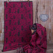 Полотенце махровое ТМ Речицкий текстиль, 3 Кота 50х90 см