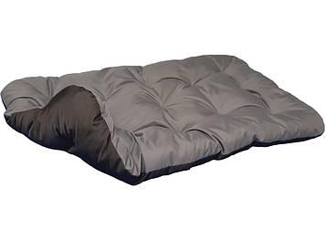Лежак для собак. Двосторонній Сірий + Чорний