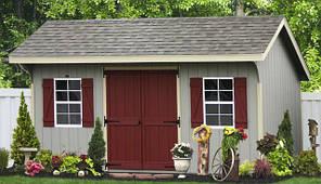 Деревянные хозблоки в скандинавском стиле от производителя. Scandinavian style barns - 05