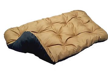 Лежак для собак дрібних, середніх і великих порід. Двосторонній Койот+ Чорний