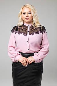 """Блуза """"Зефір"""" (рожевий)"""