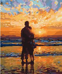 Картина за номерами (Захід сонця для закоханих) bk_1034