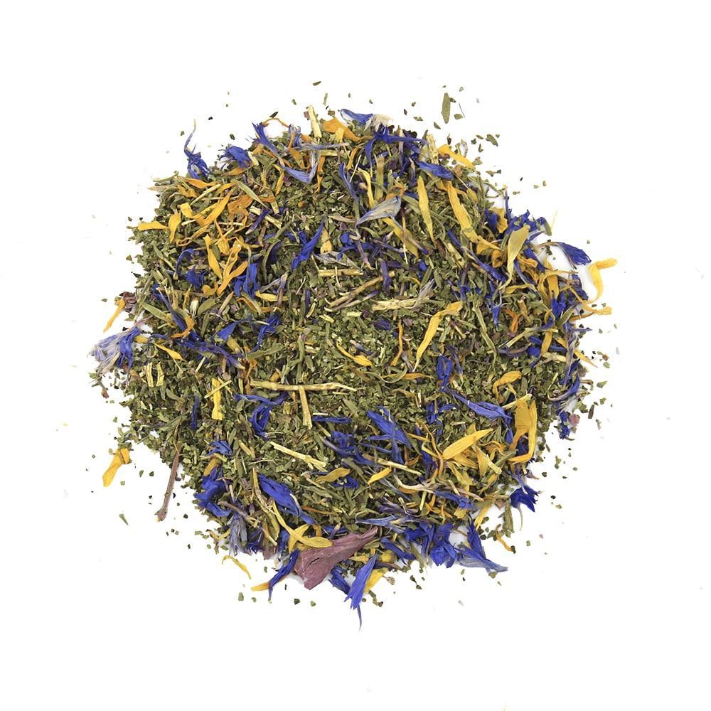 Чай Teahouse (Тіахаус) Ехінацея і Чебрець зі стевією 100 г (Tea Teahouse Echinacea and Thyme (stevia) 100 g)