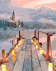 Картина за номерами (Романтична пристань) bk_1035