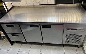 Холодильний стіл Б\у 2 розпашні двері і 2 висувних ящика