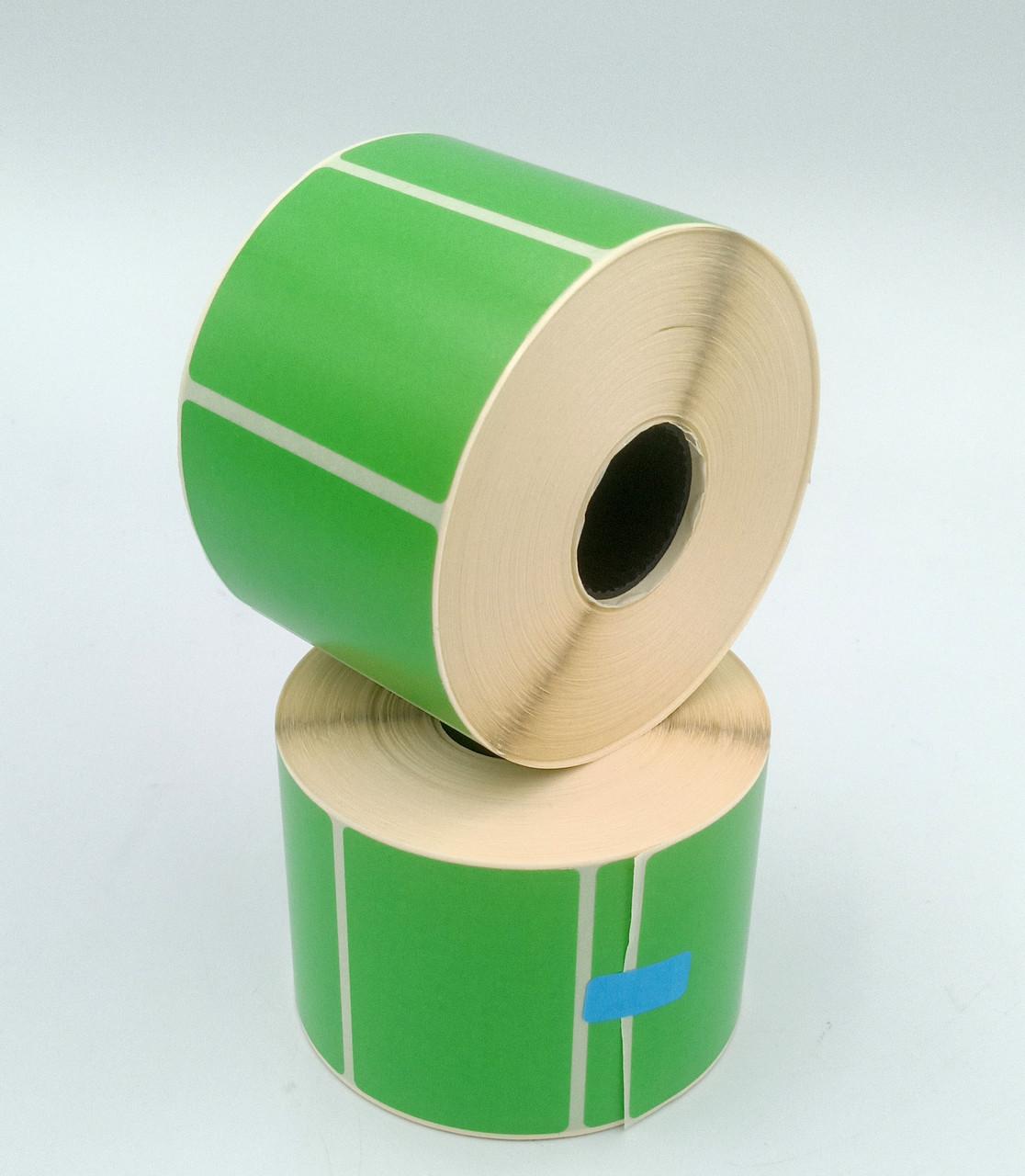 Термоэтикетка Т.Еко пантон 58*40 мм 1000 этикеток прямоугольная 5 шт зелёная (5840T1000V25G)