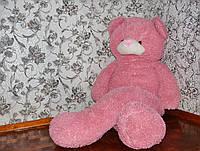 Огромный розовый медведь 160 см