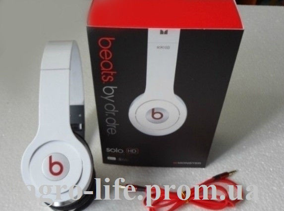 Наушники Monster Beats by Dr.Dre Solo HD - Аграрный интернет магазин в  Виннице c83e1f55e74cf