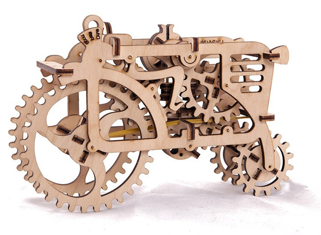 "Механічний 3D пазл ""Трактор"" Ukrainian Gears (70003)"