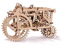 """Механічний 3D пазл """"Трактор"""" UGears (70003)"""