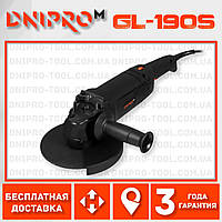 Болгарка Dnipro-M GL-190S (кутова шліфмашина) (80585000)